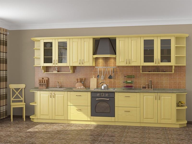 Кухня из сосны видео