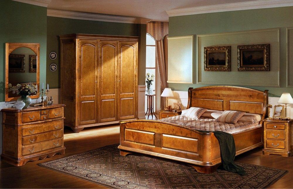 купить набор мебели для спальни провинция из массива сосны фабрики в